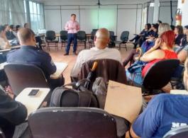 M�dicos cubanos compartilham experi�ncias com profissionais da sa�de gravataienses