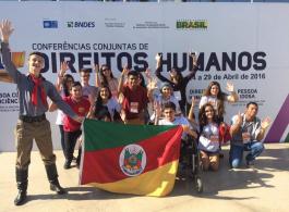 Gravata� participa da X Confer�ncia Nacional dos Direitos da Crian�a e Adolescente
