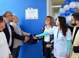 Prefeitura investe em sa�de e inaugura nova Unidade de Sa�de Cohab C