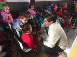 Comit� de Combate ao Mosquito da Dengue realiza atividade educativa na Escola Mundo Encantado