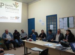 Prefeitura re�ne-se com comiss�o executiva da Gest�o Participativa