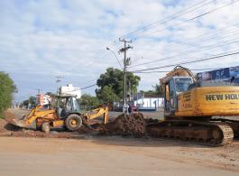 Prefeitura inicia prepara��o para duplica��o da Avenida Brasil