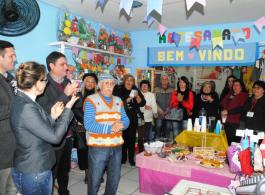 Prefeitura reinaugura Casa da Economia Solid�ria