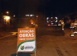 Prefeitura realiza opera��o tapa-buraco em 10 vias da cidade